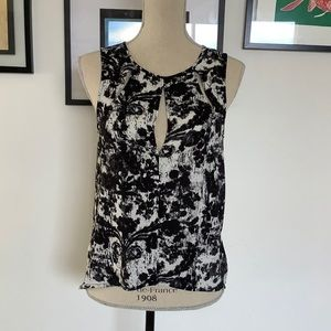 UO silence and noise cutout tank top size S